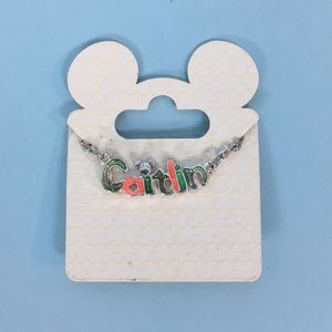 Caitlin Disney Necklace